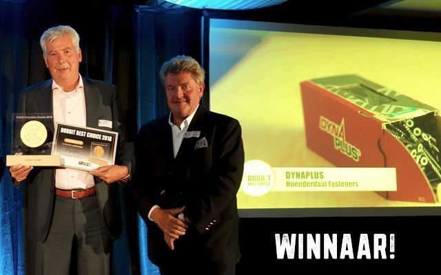 Dynaplus winnaar Dobbit Best Choice Award